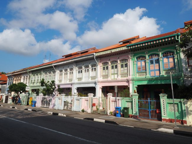 unique Singapore 48時間 #3【3日目AM】カトン地区でプラナカンの風に吹かれて…