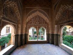 スペインラマンチャ・コスタデルソル旅行26-アルハンブラ宮殿,ライオン宮がすばらしい