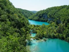 2017年初夏のバルカン半島7カ国周遊一人旅 10.エメラルド・グリーンに輝くプリトゥヴィツェ湖群国立公園
