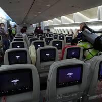 2019年エジプト旅行+マカオ+アブダビ 3 Royal Jordanian Air長距離便搭乗