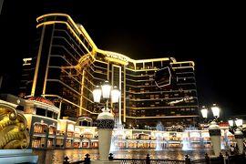 ホテルにケーブルカー?ウィン・パレスで噴水のショー マカオ・香港の旅1-2