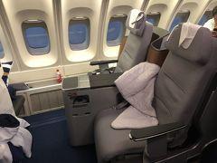 本日は満席で・・・ルフトハンザビジネスクラス FRA/GIG搭乗記とフランクフルト空港Cエリア・セネターラウンジ