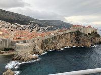 クロアチア旅行 母息子at春休み�の2 ドブロブニクの城壁巡り