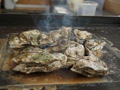 そして2週連続で仙台へ。前半 陸前浜田の牡蠣小屋と塩釜のすし哲でお昼ご飯からのオフ会