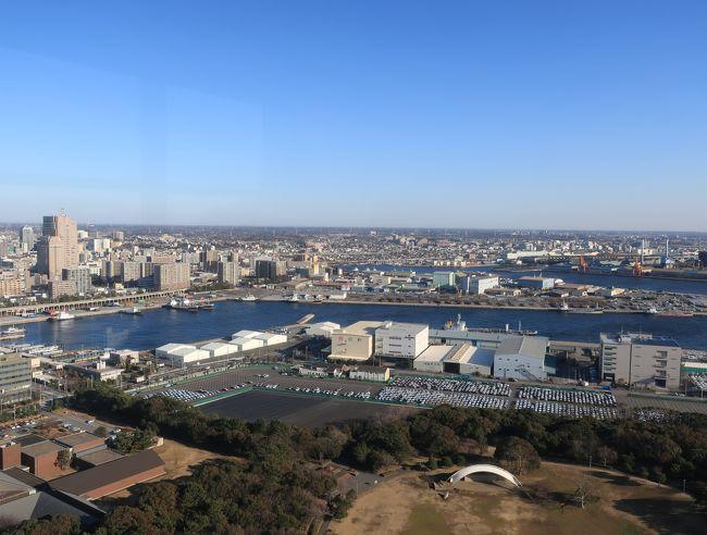 千葉ポートタワー,展望台からの眺め