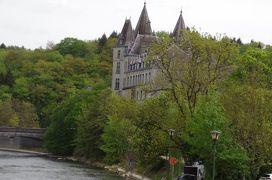 ドイツ・ライン川下りや河畔の町やベネルックス三国の運河・花・名画を楽しむ旅 4-1 ベルギーの山間の世界で一番古くて小さな町デュルビュイ