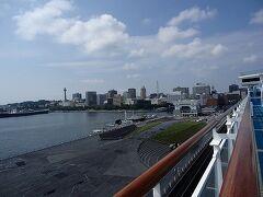 ダイヤモンドプリンセス 旅行記 2018 夏の日本海クルーズと広島・韓国-9-横浜下船