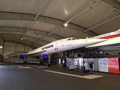 パリのル・ブルジェ航空宇宙博物館で憧れのコンコルドを見学に!