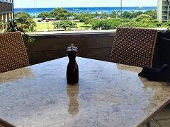 201706突然ハワイ!四日目 お昼ごはんは海が見えるあのお店(^^♪でガールズトーク