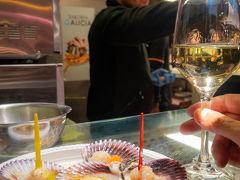 '18-'19 スペイン11 : (´π`) ウグゥ…疲れがピークに。サンミゲル市場で夜ご飯のあと気合いでフラメンコショーへ