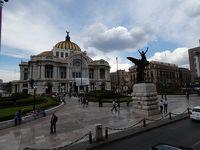メキシコシティ 市内観光バス ファレス通りからソカロ (Av. Juarez/Zocalo, Turibus, Mexico City)