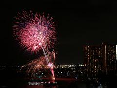 ホノルル旅行 4(ホノルルの夜景と花火)