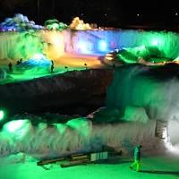 層雲峡温泉氷瀑まつりともんべつ海の駅 北海道ふっこう割�は層雲峡