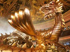 富貴龍と吉祥樹、ウィン・マカオのショーは圧巻!サンズ・コタイでさまよって マカオ・香港の旅2-2