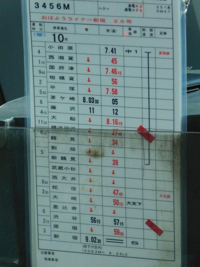 2019私の責任編集!週末パスで男5人鉄道オフ会!vol.6(3456M「おはようライナー新宿26号」編!)