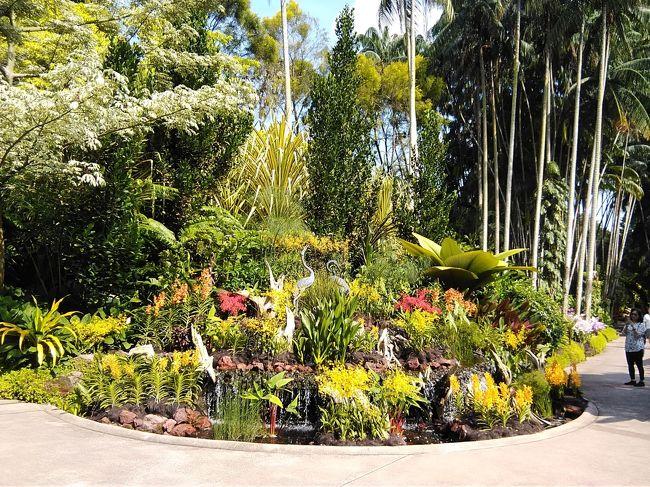 シンガポール旅行が初めての妻に合わせて<br />1.ガーデンズ・バイザ・ベイ<br />2.動物園(リバーサファリ、ナイトサファリ)<br />3.ジュロン・バード・パーク<br />4.植物園<br />を童心に帰って堪能しました。シンガポールのテーマパークは人を引き付ける工夫がされていることに関心しました。あまり期待していなかったジュロン・バード・パークが一番気に入りました。ナイトサファリは期待外れでした。日本も旭山動物園だけではなく、人を引き付ける工夫をもっと考えてほしいです。いつも天気が良くたのしい旅行となりました。