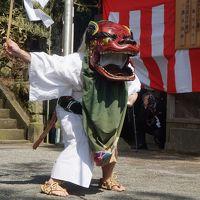 箱根の仙石原湯立獅子舞〜人間臭い獅子舞は微妙な味わい。箱根湯本の街歩きから宮ノ下の富士屋ホテル、菊華荘でのランチももうひとつのお楽しみです〜