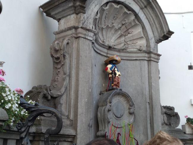 10月のベルギー1人旅 その③ブリュッセル(シュボ公園と昼のグランプラス)