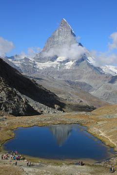 スイス4日目③マッターホルンを見ながらトレッキング