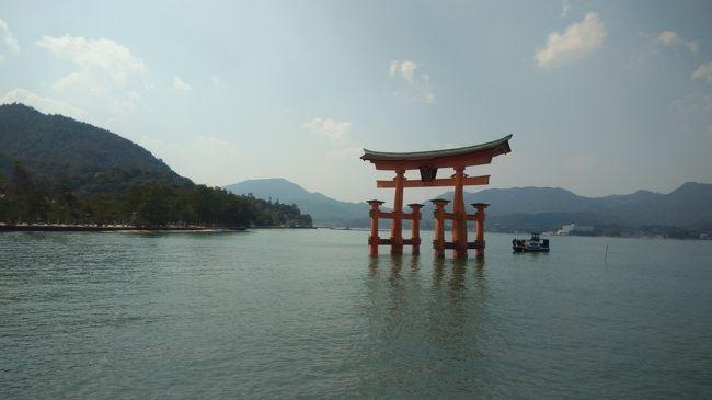 またまたツアーで行ってきました。<br />(何しろ47都道府県を目ざしてるから。昔行ったけど4トラには書いてないし…)<br />これで2県消化できた!って感じ。<br /><br />一日目は宮島、錦帯橋。<br />二日目は角島大橋、元乃隅稲成神社、萩・津和野です。<br />二日目は初めてのところばかりです。