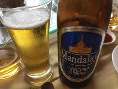 ミャンマー 11  レストラン・食事 編  ビール良し 味は可も有り 不可も有り