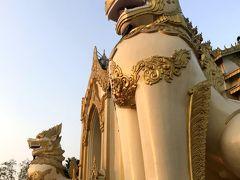 ミャンマー 4     チャウタッジーパゴダ  シュエダゴンパゴダ 信仰心 集う心が 羨まし