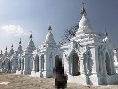 ミャンマー 6    マンダレー へ  仏塔の 石に刻みし かの思い