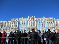 雪残るサンクトペテルブルク3泊5日(2)3日目システムが謎すぎて呆然とするエカテリーナ宮殿編