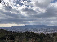 京都トレイルで東山お手軽ハイキング。将軍塚から京都一望