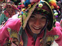 南米旅2019 その①南米三大カーニバルのひとつ オルーロのカーニバルに参戦!