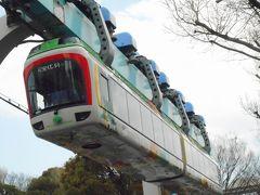 2019年 3月晦日 上野動物園・・・・・②上野モノレール惜別乗車