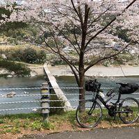 四国輪行旅5-4(自転車で四万十川、沈下橋、予土線、今治の鉄板焼き鳥)
