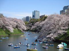2019年4月 満開の桜(千鳥ヶ淵)