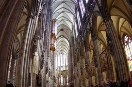 ドイツ・ライン川下りや河畔の町やベネルックス三国の運河・花・名画を楽しむ旅 6 ケルン大聖堂を見てフランクフルトから帰国