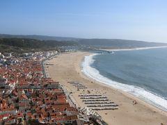 ポルトガル。ユーラシア大陸最西端、未知の国。オレンジ色の屋根と美しい海岸線ナザレ⑥。