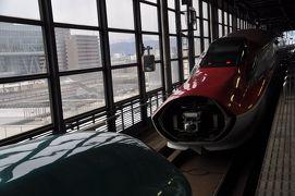2019年3月三陸弾丸鉄道旅行1(新幹線乗り継ぎで盛岡へ)
