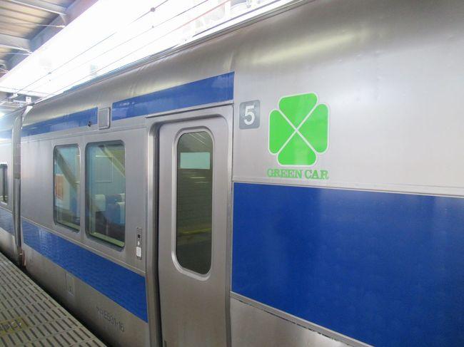 """春の青春18きっぷを使って日帰り列車旅に行ってきました。<br />横須賀線で品川まで向かい、品川から常磐線(上野東京ライン)に乗って土浦へ向かいました。<br />2階建てグリーン車で快適な道中。行く先々の線路沿いに満開の桜が眺められるのもこの時期ならでは。<br />車内では駅弁も食べて日帰りでもしっかりと""""汽車旅""""を楽しみます。<br /><br />前半は横須賀線から品川駅で常磐線に乗り継いで土浦へ向かう途中の藤代駅までをレポートします。"""