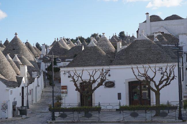 ポンペイ遺跡、アルベロベッロ、アマルフィ、天空の都市チヴィタ・バニョレージョなど期待通りの名所巡り。