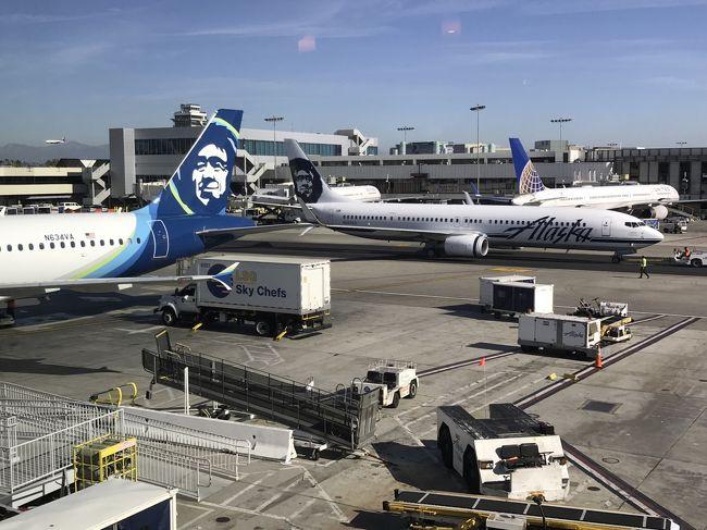 成田-ロサンゼルス ANA特典C<br />ロサンゼルス-ラスベガス アラスカ航空Y<br />ラスベガス-ロスカボス アメリカン航空Y<br />ロスカボス-ロサンゼルス アラスカ航空Y<br />ロサンゼルス-羽田 ANA特典C<br /><br />【ラスベガス】ベラッジオファウンテンビュー2泊 ベラッジオスイート1泊<br />       ベネチアン1泊<br />【ロスカボス】ハイアットジーヴァロスカボス クラブオーシャンビュー5泊<br />【アナハイム】ヒルトンアナハイム ジュニアスイート2泊<br />【サンタモニカ】JWマリオットサンタモニカ ルメリゴ オーシャンビュー1泊<br /><br />ベラッジオのチェックインで大揉めするところから始まり、体調が悪くなって往診に来てもらったり、飛行機がキャンセルになったり、ロスカボスから車で5時間程かかる場所でホエールウォッチングするはずが風が強くてキャンセルしたり、ディズニーランドで転んでiPhoneの画面が割れて足首を捻挫したり、そして何よりどこもかしこも寒くて寒くてしょうがなかった、色々なことのあった旅行でした