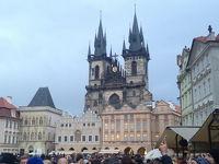 プラハ(Praha) 1日目(旧市庁舎、旧市街広場、カレル橋)