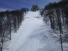 ゴンドラ一本35周年、八海山スキー場。