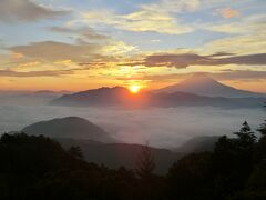 七面山修行登山・その2.修行の成果で身も心も清らかに‥るんるん気分で下山。