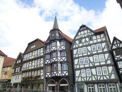 2013年秋のドイツ3:フリッツラーとヴィルドゥンゲンの木組みの家並み、山上のヴァルデック城