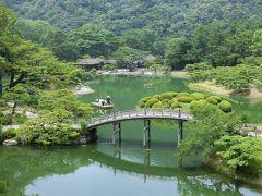 猛暑の岡山旅行 ③ 瀬戸内海を渡り四国へ。金刀比羅宮・栗林公園・屋島を巡って讃岐うどん