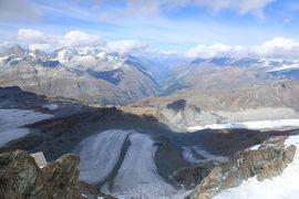 スイス4日目⑥欧州最高地点の展望台、マッターホルン・グレッシャー・パラダイス