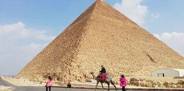 世界一周~ビジネスクラスで11ケ国周遊⑨~(中東編その4)ピラミッド