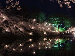 高田城百万人観桜会と春日山城址