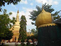 弾丸ミャンマー1812 「バスターミナル近くにゴールデンロックのレプリカがありました。」  ~ヤンゴン~