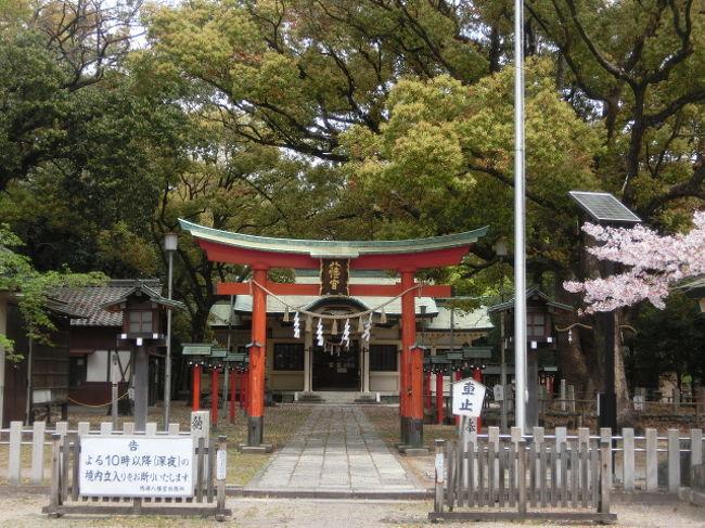 名古屋緑区の鳴海八幡宮、そして南区の富部神社をまわりました。呼続は昔、海が近かった場所で、東海道、鎌倉街道が通る場所。派手ではないけれども愛知の歴史や地形を感じられました。