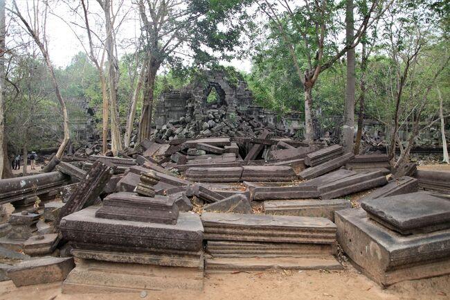 ANAビジネスクラス直行便で行くカンボジア5 ベンメリア遺跡